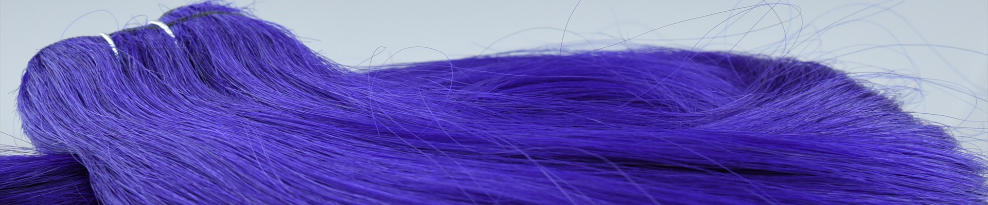 Purple-Weft-Hair-Extension